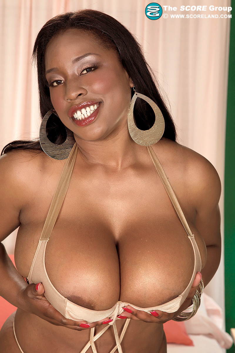 Black girl boobs